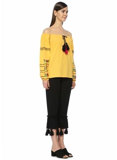 Sensi Studio Bluz Sarı